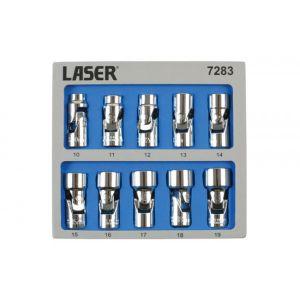 Universal Joint Socket Set - 3/8in.