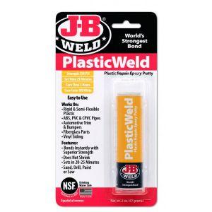 J-B Weld Plastic Weld Epoxy Putty Stick - Pack of 6