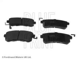 Rear Brake Pad Set BLUE PRINT ADN142166