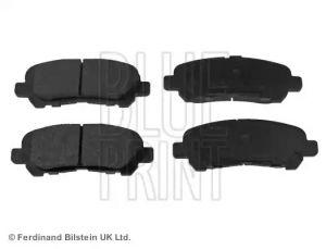 Rear Brake Pad Set BLUE PRINT ADT342210