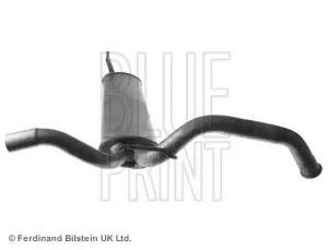 Rear Exhaust Muffler /Silencer BLUE PRINT ADT36017