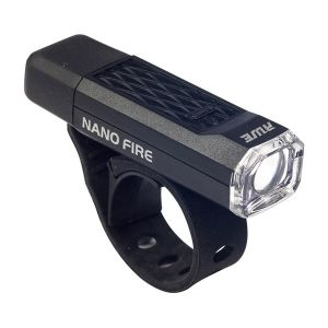 Nano Fire LED Front Cycle Light - Black - 12 Lumen