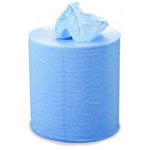 3 Ply Blue Centrefeed Roll - 150m x 220mm - Pack of 6
