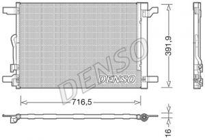 Air Con Condenser DENSO DCN32024