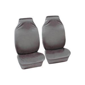 Car Seat Covers Defender - Front Pair - Grey