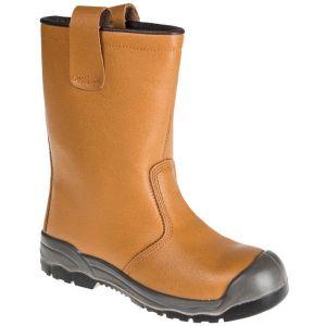 Steelite Rigger Boots S1P CI - Tan - UK 9