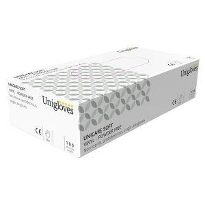 Vinyl Powder Free Gloves - Medium - Pack of 100