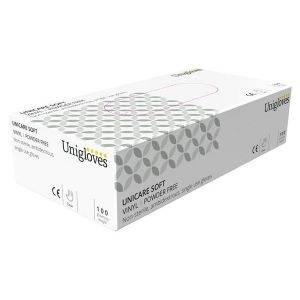 Vinyl Powder Free Gloves - Extra Large - Pack of 100