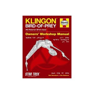 Science Fiction Manual - Klingon Bird-of-Prey