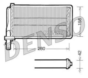 Heat Exchanger DENSO DRR01001