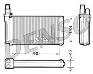 Heat Exchanger DENSO DRR09020