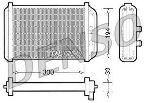 Heat Exchanger DENSO DRR09033