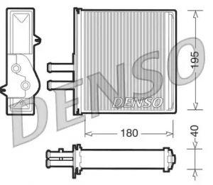 Heat Exchanger DENSO DRR09060