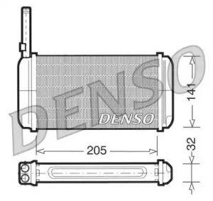 Heat Exchanger DENSO DRR10002
