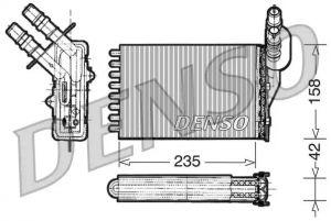 Heat Exchanger DENSO DRR23001
