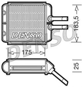 Heat Exchanger DENSO DRR08001