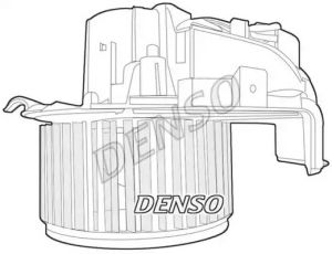 Heater Blower Motor DENSO DEA07022
