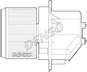 Heater Blower Motor DENSO DEA09066