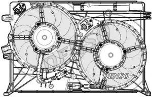 Radiator FanDENSO DER09075