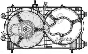 Radiator FanDENSO DER13012