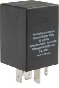 Relay for wipe-/wash interval for Audi, Ford, VW, Seat, Skoda