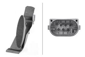 Accelerator Pedal Position Sensor HELLA 6PV 010 946-441
