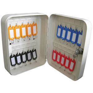 Grey Key Cabinet - 20 Key Capacity