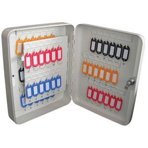 Grey Key Cabinet - 60 Key Capacity