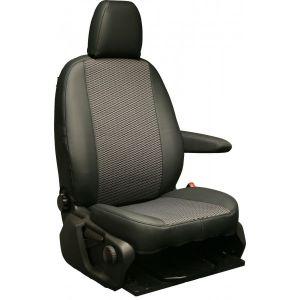 Van Seat Cover - Single & Single - Luxury Volkswagon Transporter