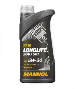 1 Litre LONGLIFE Fully Synthetic 5W-30 OEM Engine Oil- MANNOL
