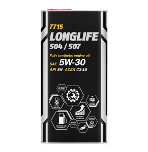 5 Litre LONGLIFE Fully Synthetic 5W-30 OEM Engine Oil- MANNOL