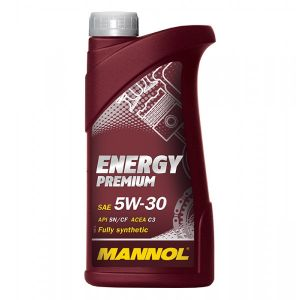 1 Litre MANNOL Energy Premium 5W-30 Fully Synthetic Car Engine Oil  MN7908-1