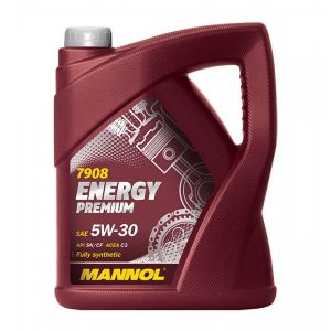 5 Litre MANNOL Energy Premium 5W-30 Fully Synthetic Car Engine Oil  MN7908-5