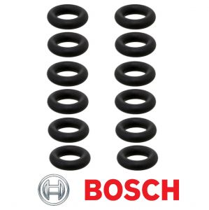 BOSCH (Set of 12pcs) O Ring /Seals for Fuel Injector