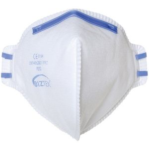 FFP2 Fold Flat Dust Mist Disposable Masks - Unvalved - Pack of 20