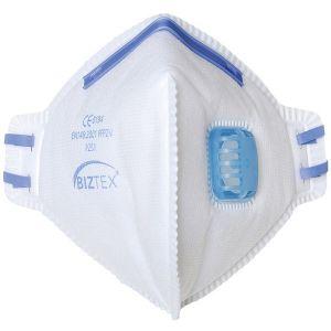 FFP2 Fold Flat Dust Mist Disposable Masks - Valved - Pack of 20