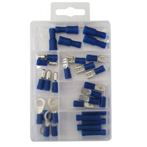 Wiring Connectors - Blue Insulated  - Pack of 30