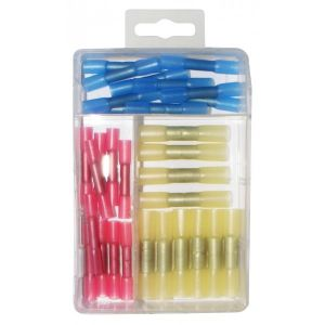 Wiring Connectors - Assorted - Heat Shrink Slide-on - Pack Of 30