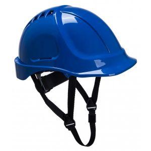 Endurance Vented Safety Helmet - Blue