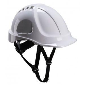 Endurance Vented Safety Helmet - White