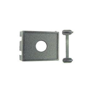 Switch Panel - One Hole - Round