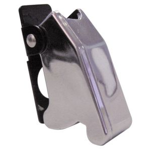 Switch Cover For Metal Toggle - Chrome