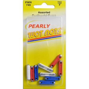 Fuses - Continental - Assorted - Pack Of 10 (8A/16A/25A)