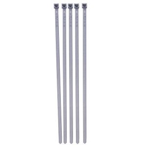 Cable Ties - Standard - Silver - 300mm - Pack Of 20