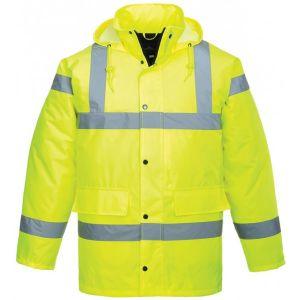 Hi-Vis Traffic Jacket - Yellow - Large