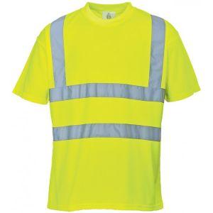 Hi-Vis T-Shirt - Yellow - Large