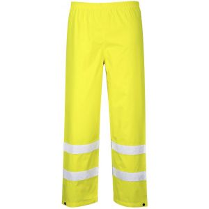 Hi-Vis Traffic Trousers - Yellow - Small