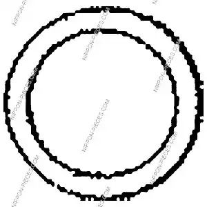 Seal, exhaust pipe NPS T433A14