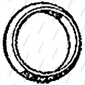 Seal, exhaust pipe NPS T433A17