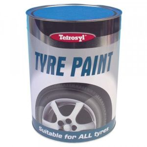 CarPlan Tyre Paint - Black - 5 Litre
